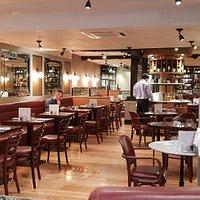 Brasserie interior
