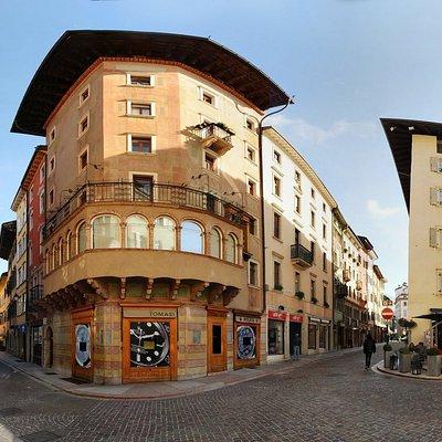 look of the Via San Pietro branch, Rolex shop, Trento