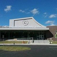 Onöhsagwë:de' Cultural Center , the new location of the Seneca-Iroquois National Museum