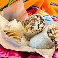 Baby Burrito from Zia Taqueria