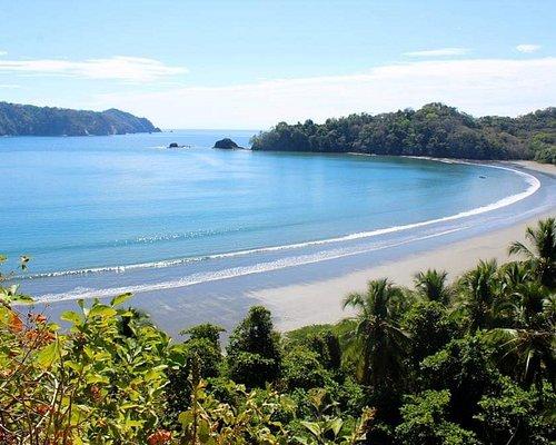 Playa Curú desde el mirador