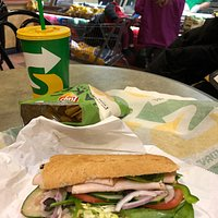 Good Subway and very friendly service!