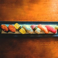 Our assorted Sushi platter!
