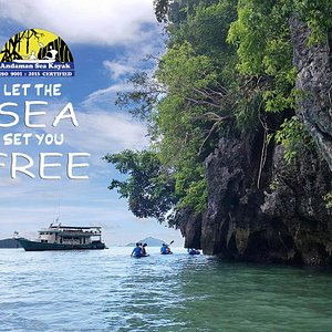 📣📣 LET THE SEA SET YOU FREE 📣📣    - Visit full day Phangnga bay with us   - Experience your best holidays , we are operate daily !!    Look forward to serve you