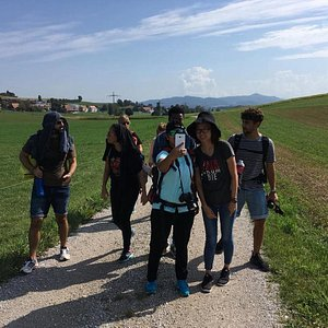 hiking trips in Bern with our students
