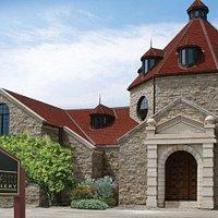 Exterior of Konzelmann Estate Winery in Niagara-on-the-Lake. Konzelmann is Niagara's only lakefront winery.