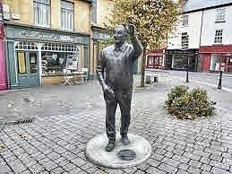 John B Keane Statue