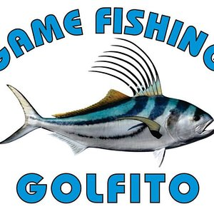 Our beautiful logo, including the awesome Roosterfish, which made our Captain Robin Blanco earn his world record