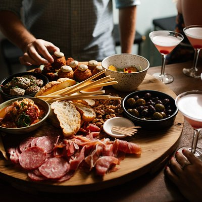 One of the many South Australian grazing boards we get to taste on any of the Adelaide Bar Boys Tours