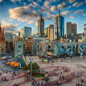 Glorious Fed Square