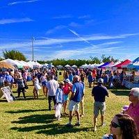 One of many beautiful farmers market days on Boca Grande