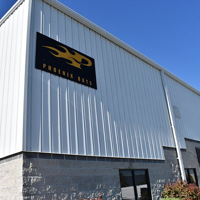 Phoenix Bats manufacturing facility in Plain City, Ohio.  Just a home run or two's distance from Dublin, Ohio.