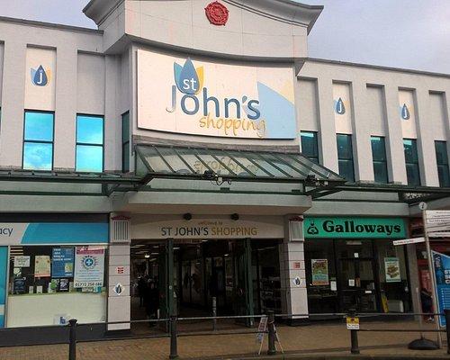 St John's Shopping Centre, Preston