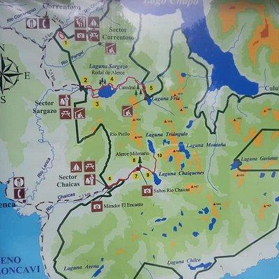 Mapa del Parque.
