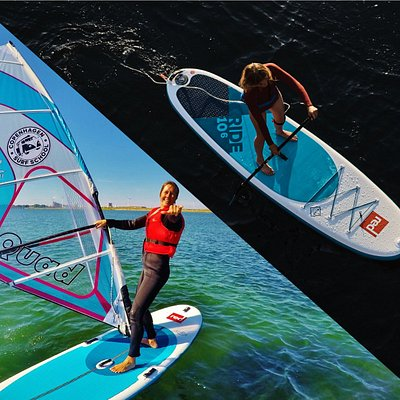 Windsurf courses and SUP Tours in Copenhagen.