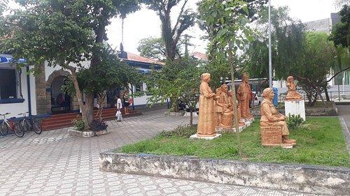 Praça oito de Maio em Taubaté