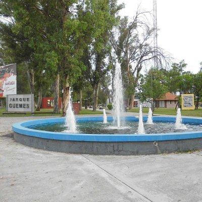 Fuente del Parque Güemes -
