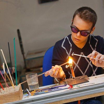 Glass Workshop. Torch.