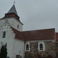 Spørring Kirke - mod syd