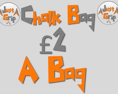 We Provide chalk bags for hire to make the climbing experiences more enjoyable