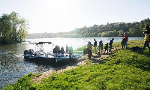 Escale sur une île sauvage de Loire