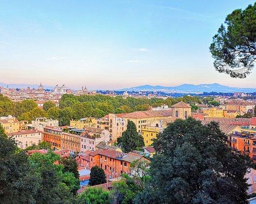 Холм Джаниколо со смотровыми, Рим