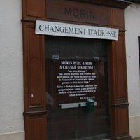 Morin se situait avant au centre ville de Nuits , prés de l'église Saint Pierre