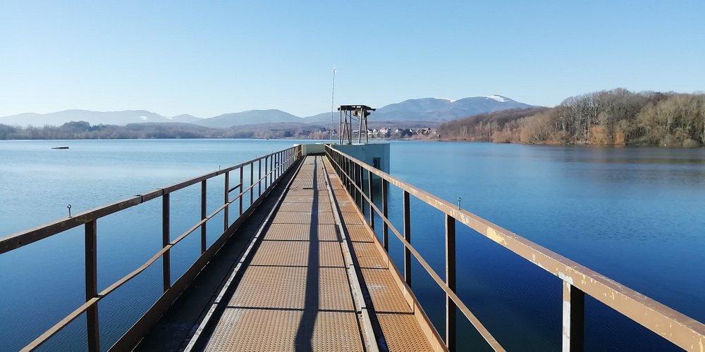 Le barrage de Michelbach.