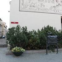 """""""Post Old Town"""" Sculpture"""