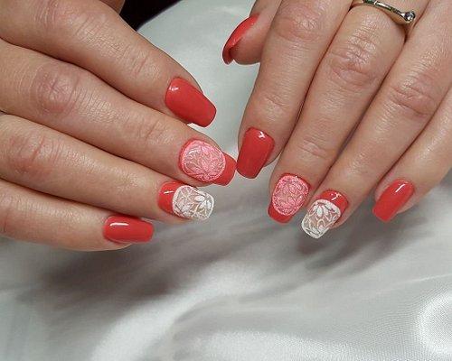 Ricostruire unghie ultra Slim metodo russo con nail art. Dry manicure.