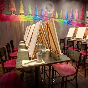 """Our """"Happy Tree"""" private party room"""