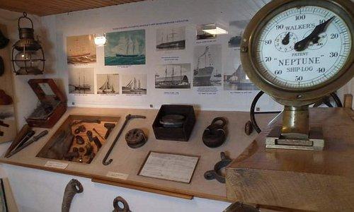 Sjöfartsrummet i Fiskemuseet