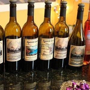 Great Lineup of Red Wines at Mt St Helen's Cellars in Castle Rock