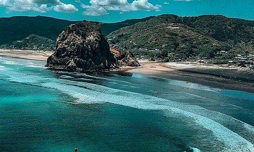 la azohia deolphin beach.