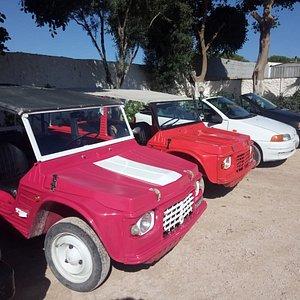 Citroen Mehari e Punto cabrio: noleggio auto aperte a Lampedusa!