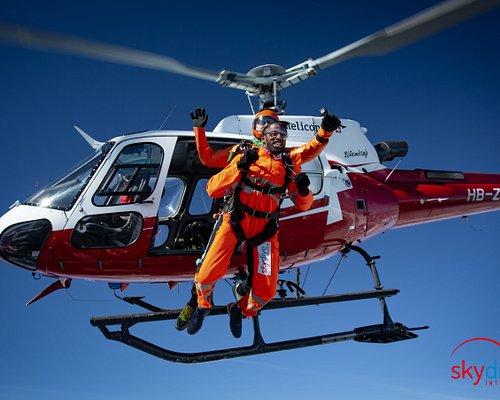 Helicopter Skydiving at Skydive Interlaken