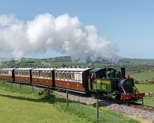 A glorious spring day on Exmoor's only Victorian steam railway