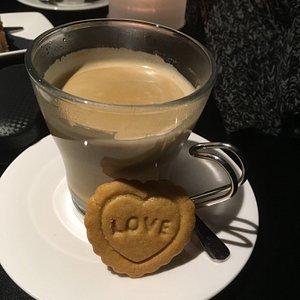 Surprisekoekje op Valentijnsdag :-))