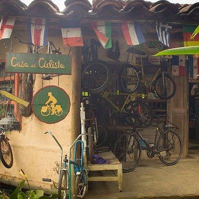 Casa de Ciclistas de Medellin en San Antonio de Prado official warmshowers Colombia