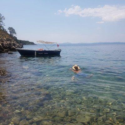 Swimming at fiku bay