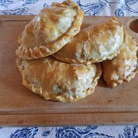 Pasties made to a traditional Cornish pasty recipe. Proper job!