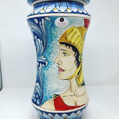 Stupendo vaso in Ceramica di Caltagirone