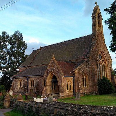An interesting Victorian village church where traditional mingles with contemporary