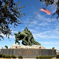 "The ""original"" Iwo Jima Monument at the Iwo Jima Memorial Museum is one of the top things to see in Harlingen, Texas."