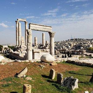 Temple of Hercules; Amman Citadel