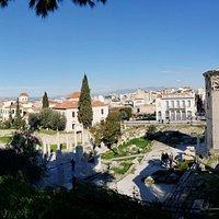 Tower of wind; Roman Agora; Athens