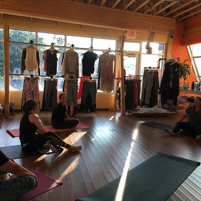 Yoga class at one of our spaces!