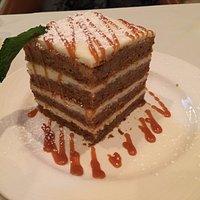 one humongous carrot cake