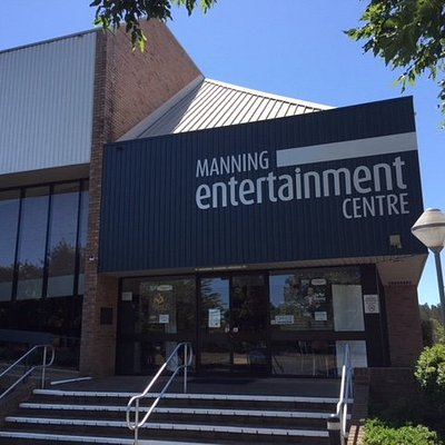 Entrance to the Manning Entertainment Centre (the MEC).