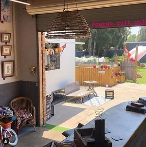 The converted old mechanic workshop in Culburra now is available for Hire as a creative space. its a Gallery utilising the space for community artisans, displaying local handmade goodies. Opening soon the Freaks of Nature mobile food factory.